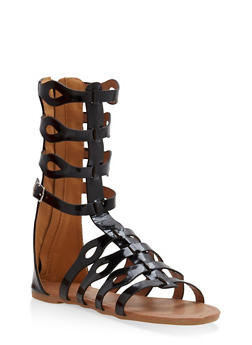 Girls 11-4 Tall Gladiator Sandals - 1737064790015