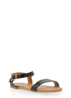 Girls 11-4 Ankle Strap Sandals - 1737064790048