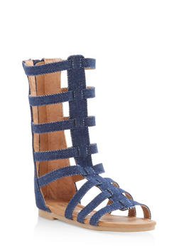 Girls 5-10 Strappy Gladiator Sandals - 1737064790096