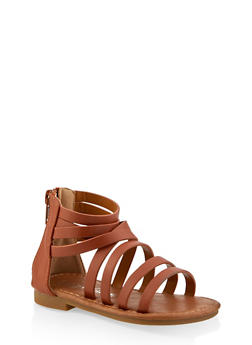 Girls 5-10 Caged Sandals - 1737064790222