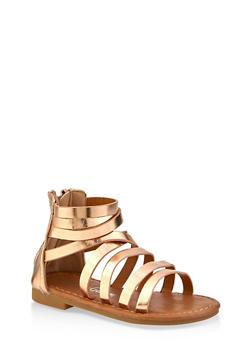 Girls 5-10 Caged Sandals - 1737064790222