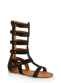 Girls 11-4 Tall Gladiator Sandals | 1737064790291 - 1737064790291