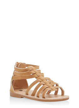 Girls 6-10 Gladiator Sandals - 1737065690381