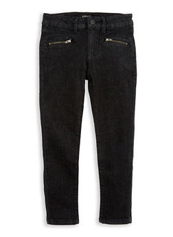 Girls 7-16 Buffalo David Bitton Zipper Detail Skinny Jeans - 1764074550018
