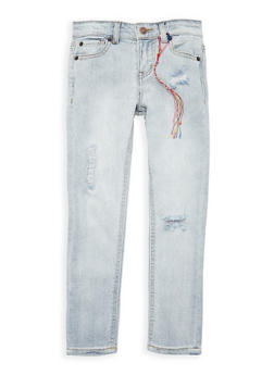Girls 4-6x Lucky Brand Distressed Jeans - 1765074550109