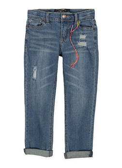 Girls 4-6x Lucky Brand Distressed Jeans - 1765074550110