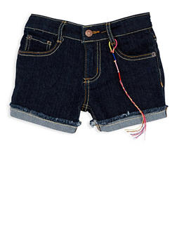 Girls 4-6x Lucky Brand Denim Shorts - 1765074550114