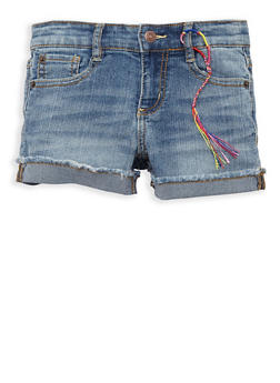Girls 4-6x Lucky Brand Denim Shorts - 1765074550117