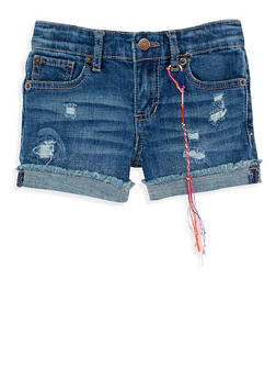 Girls 4-6x Lucky Brand Denim Shorts - 1765074550119