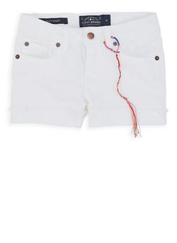 Girls 4-6x Lucky Brand Denim Shorts - 1765074550120