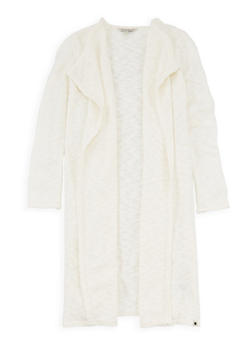 Girls 7-16 Lucky Brand Chunky Knit Duster - 1773074550051