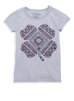 Girls 7-16 Lucky Brand Graphic Tee - 1773074550068