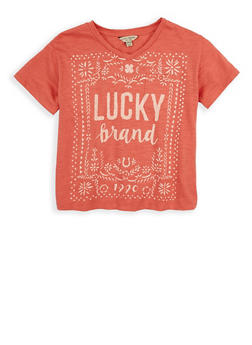 Girls 7-16 Lucky Brand Graphic Tee - 1773074550073