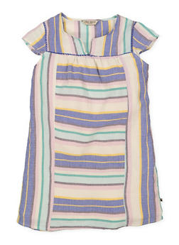 Girls 7-16 Lucky Brand Striped Dress - 1785074550012