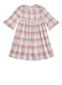Girls 7-16 Lucky Brand Plaid Dress - 1785074550016