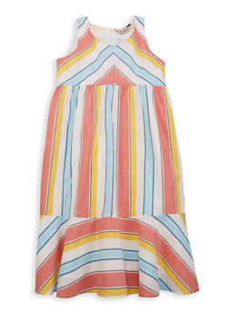 Girls 7-16 Lucky Brand Striped Sundress - 1785074550018