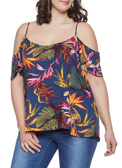 Plus Size Rayon Tops