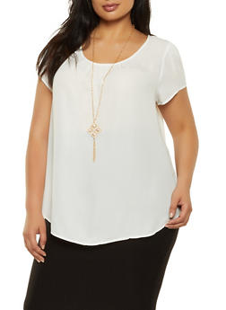 Women White Blouses Short Sleeve