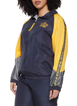 Plus Size Boss Queen Track Jacket - 1850063400063