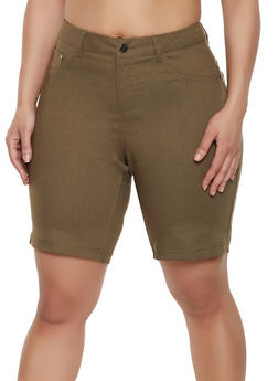 Green 2X Shorts