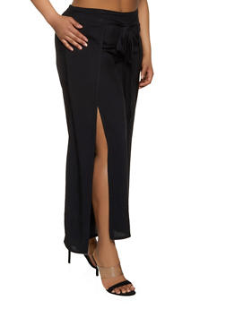 Womans Plus Size Wide Leg Pants