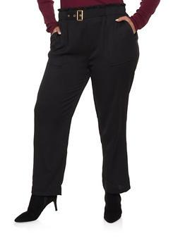 Black 2X Pants