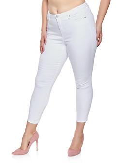 Plus Size Almost Famous Push Up Jeans - 1870015994000