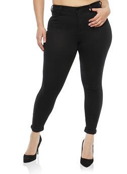 Plus Size Cello Skinny Jeans - 1870063156643