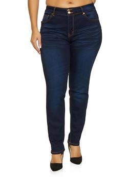 Plus Size VIP Push Up Jeans - 1870065301001