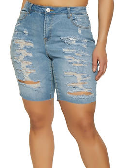 Size 22 Plus Size Shorts