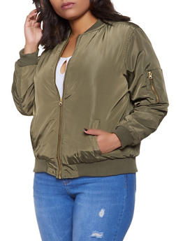 Plus Size Shell Jackets