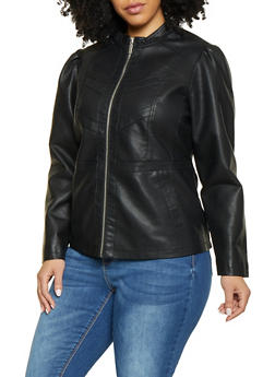 Plus Size Outerwear Jackets for Women