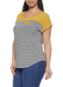 Womens Stripes Tops