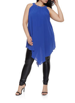 Womans Plus Size Tunics
