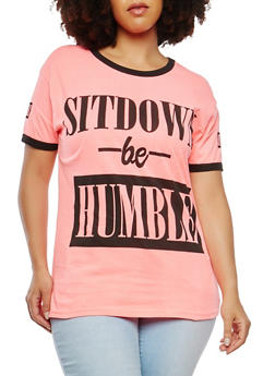 Plus Size Humble Graphic Tee - 1912033879535