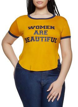 Beautiful Tops for Plus Size Women
