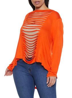 a225bec73b Orange Plus Size Clothing Back in Stock