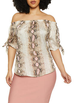 Plus Size Shimmering