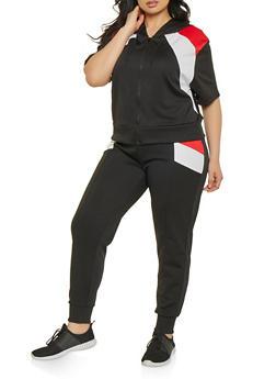 Plus Size Color Block Sweatshirt | 1927072290289 - 1927072290289