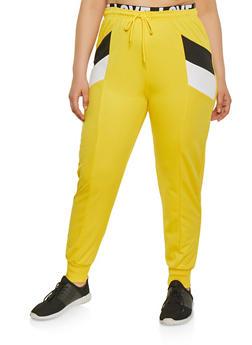 Yellow 2X Joggers
