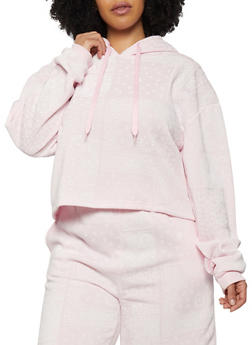 Plus Size Bandana Print Sweatshirt - 1927072292295