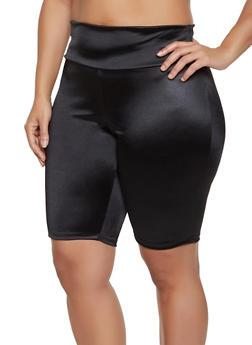 Plus Size Spandex Bike Shorts | 1931058751670 - 1931058751670