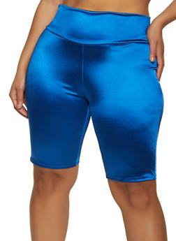 Plus Size Spandex Bike Shorts | 1931058751670 - 1931058751670