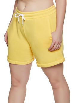 Fleece Shorts Cotton