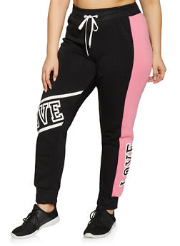 Plus Size Women Sweatpants