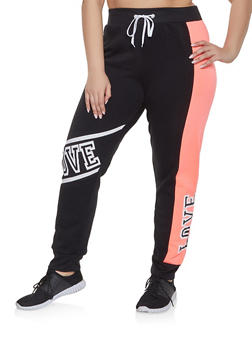 Plus Size Sweatpants