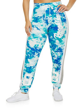 Plus Size Brooklyn Printed Joggers - 1951038341734