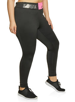 Black 4X Leggings