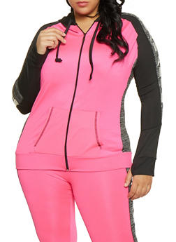 Plus Size Slay All Day Activewear Top - 1951038341757