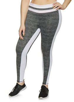 9bc246b30b97e1 Plus Size Color Block Active Leggings | 1951038341774 - 1951038341774
